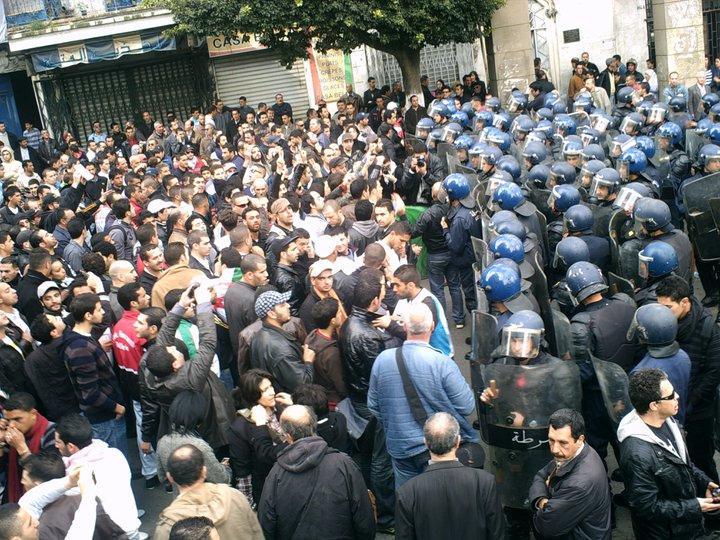 Algerian Protesters, 2011