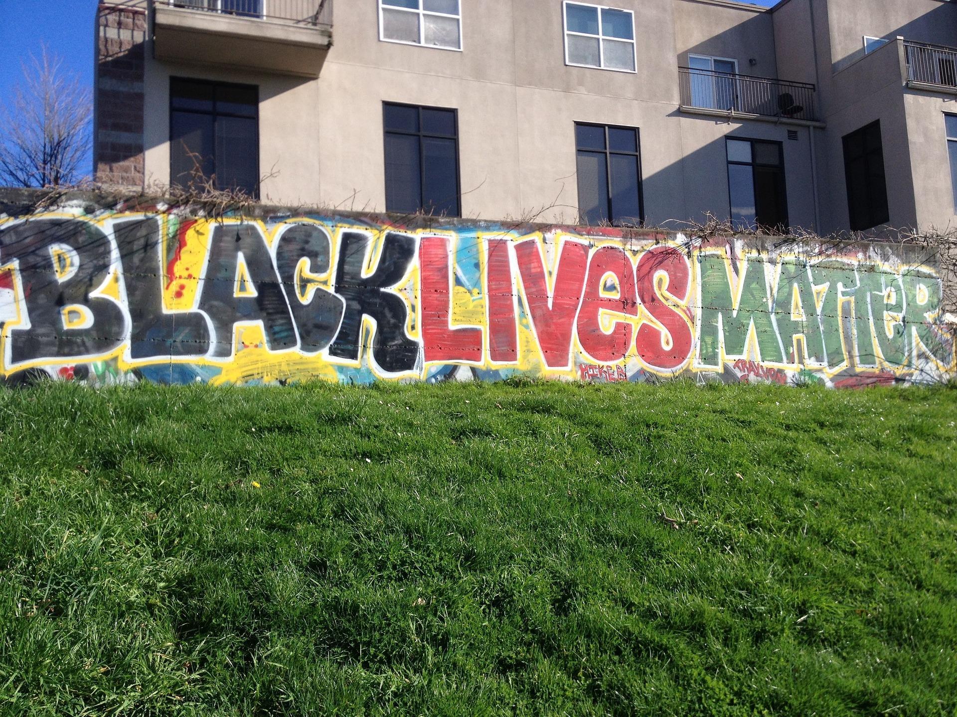 Black Lives Matter billboard in Seattle. From Pixabay