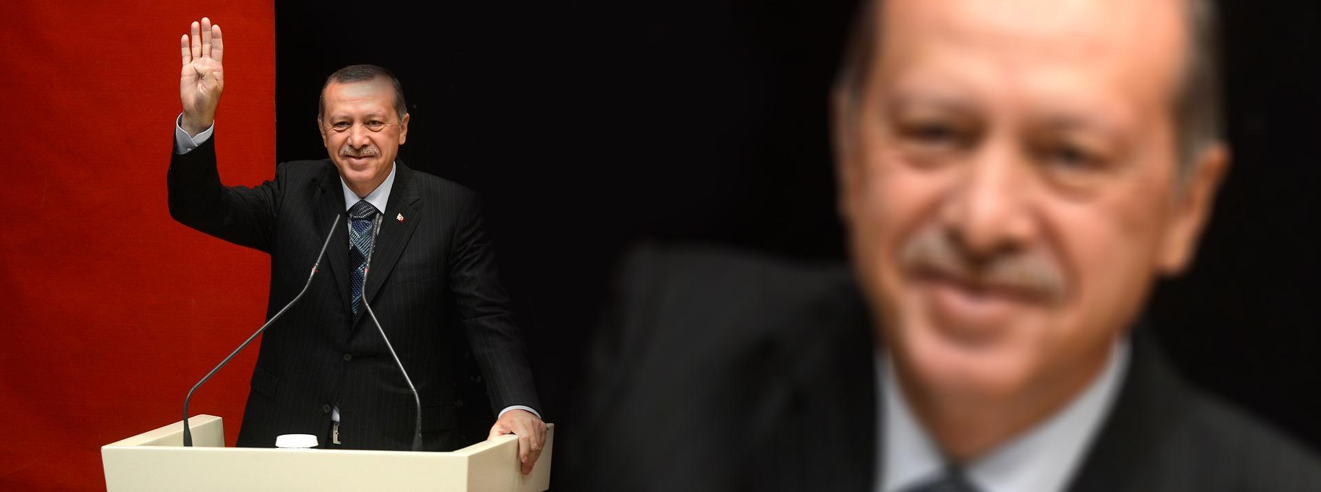 Turkish President Erdoğan. Illustrative.