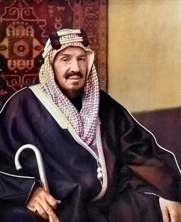 Ibn Saud, the founder of Saudi Arabia