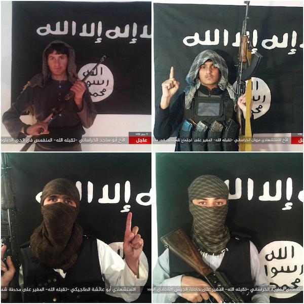 ISIS members in Afghanistan.
