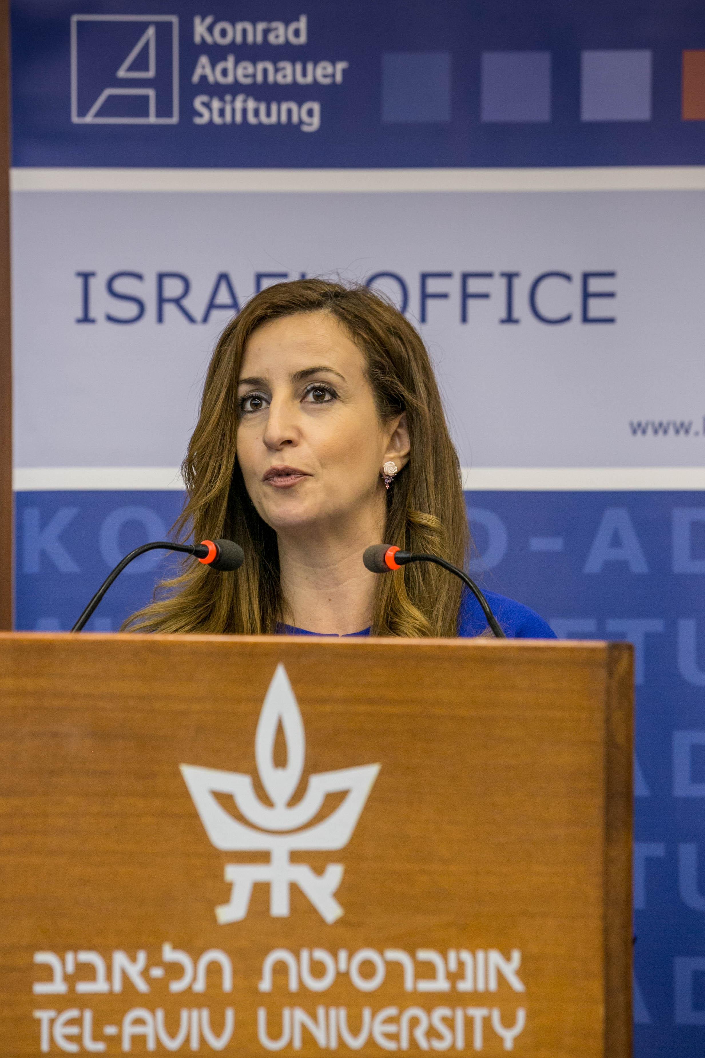 Ghadia Rinawi-Zoabi, Executive Director of INJAZ. Credit: Ya'akov Sa'ar/Israel Sun