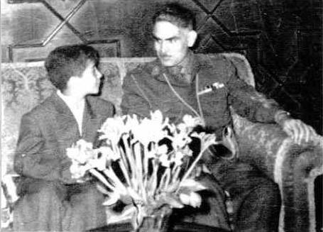A young Massoud Barzani (now KRG President) with one-time Iraqi Prime Minister Qasim