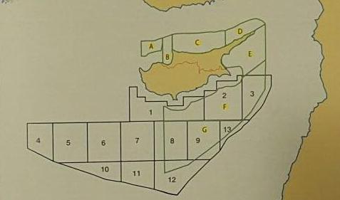 The TRNC EEZ map